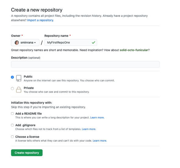 First Commit in GitHub